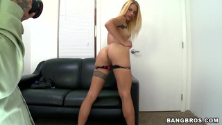 Blond hottie Cameron Canada showing off her sex skills to get the job Thumbnail