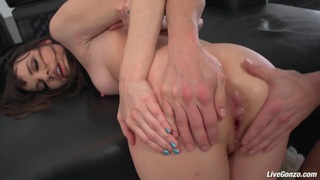 LiveGonzo Dana Dearmond is Nuts for Anal Gapes Thumbnail