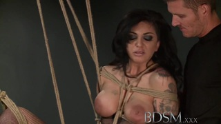 BDSM XXX Caged sub signs his body mind to mistress Thumbnail