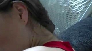 Fine Looking Brunette Sucking Dick And Fucked Doggystyle Thumbnail