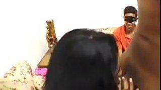 Girl Cheats While Boyfriend Watches Thumbnail