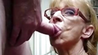 OmaFotze Old Grannies sucking dick hard Thumbnail