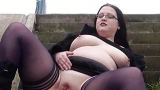 Fat Emmas public nudity and amateur bbw flashing Thumbnail