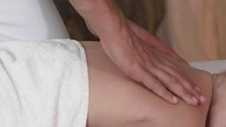 Pierced cunt babe gets massage massages european Thumbnail