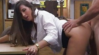 Bubble butt babe pawns twat and pounded Thumbnail
