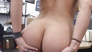 Sweet busty babe sucking huge cock Thumbnail