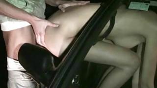 Busty pornstar Kitty Jane PUBLIC sex orgy gang bang street orgy with several random strangers Thumbnail