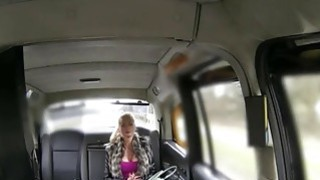 Big juggs blonde passenger ass banged for free taxi fare Thumbnail