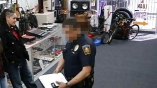 Two sluts try to steal and get pounded at the pawnshop Thumbnail