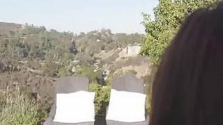 Bigtit sucks cock on big ass terrace Thumbnail