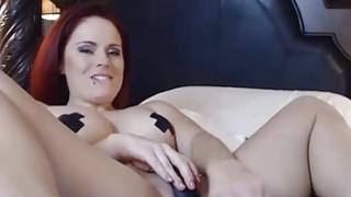 OMBFUN.com BIG SQUIRT @ 6-15 Titty Brunette Huge Cum Orgasm OhMiBod Vibrator Thumbnail