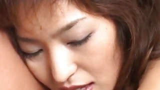 Kyoko Izumi enjoys sexual attentions from two guys Thumbnail