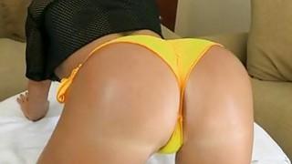 Curvy playgirl organizes cockriding session Thumbnail