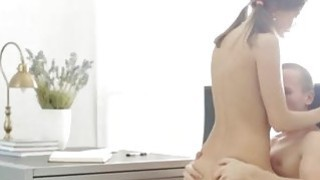 Teen redhead freckles and madison parker anal creampie Carre seduced Thumbnail