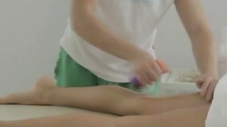 Shesnew teen Massage ends up in sex Thumbnail