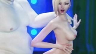 3D Fat Aliens Destroy Slim Teens Thumbnail