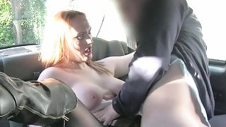 Amateur passenger jizzed on her big tits Thumbnail