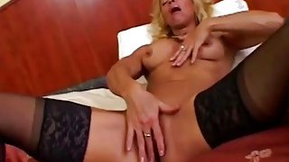 Victoria Using Dildo And Giving Head In Bedroom Thumbnail