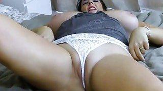 EuropeMaturE Busty Lady Lulu Solo Play Thumbnail