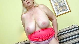 EuropeMaturE JanaT Czech Mature Star Solo
