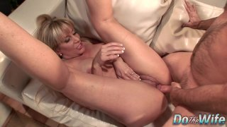 Mature Wife Blows a Dude and Fucks Him in Front of Her Younger Husband Thumbnail