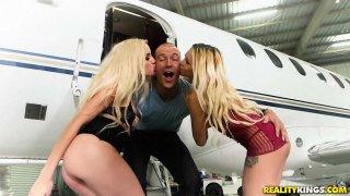 Tits On A Plane Thumbnail